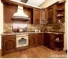 二居型开放式厨房效果图