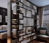 现代风格卧室隔断效果图