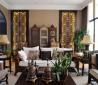 复古风格客厅装修图大全