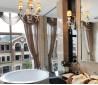 家庭淋浴房圆浴盆效果图