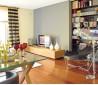 日式风格客厅电视背景墙墙装修图片欣赏