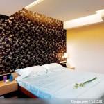 巧妙玄关化解风水难题,北京泰吉伟邦设计公司,高震,卧室,造型主墙,床头柜,造型天花板,造型灯光,