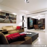隐藏式柜体设计,东易日盛CBD工作室,刘绍军,客厅,造型沙发背墙,冷气摆放设计,造型沙发背墙,阳台落