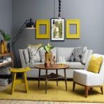 欧式装修的特点98平米13万打造客厅沙发背景墙效果图