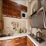 厨房装修效果图 实木橱柜效果图