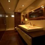 两室一厅90平装修洗手间效果图