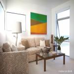 海滨复式楼二楼客厅沙发装饰图片