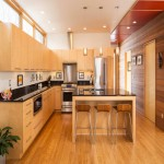 整体家装厨房吧台效果图
