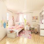 简约儿童房卧室床装修效果图大全
