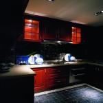 中式风格整体小厨房装修效果图
