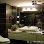 卫生间洗手台镜前灯图片