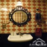 洗手台镜前灯图片