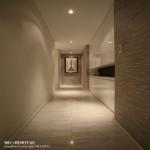 现代风格过道墙面地板砖装修图片