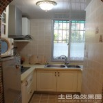 4平米小厨房装修效果图大全2013图片