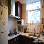 家装小厨房设计效果图