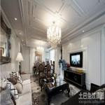 欧式95平新房装修效果图片