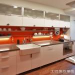 开放式厨房陶瓷水槽图片