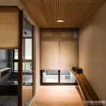 日式风格装修卷式窗帘效果图