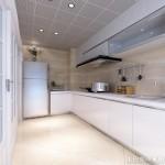 厨房铝扣板吊顶安装效果图