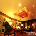 客厅中式吊灯效果图片