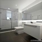 简约家装整体浴室效果图