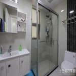 家装整体浴室装修效果图