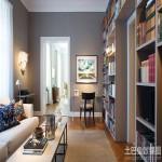 现代简约欧式风格书房装修效果图