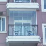 无框阳台窗装修效果图