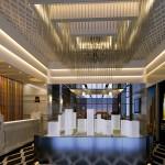 现代风格装修客厅吸顶灯装修效果图