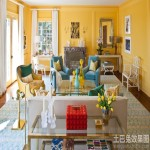 整体客厅墙面颜色效果图片