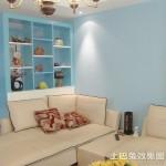 客厅墙面颜色效果图