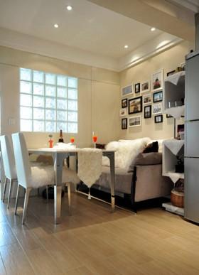 大卧室小客厅 50平老房华丽改造