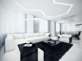 沙发装修效果图1084