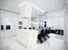 一居室简洁装修效果图433
