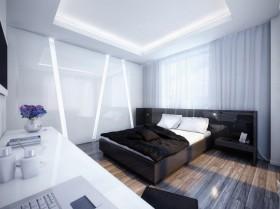 一居室窗帘装修效果图448