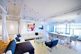 loft风格装饰画装修效果图