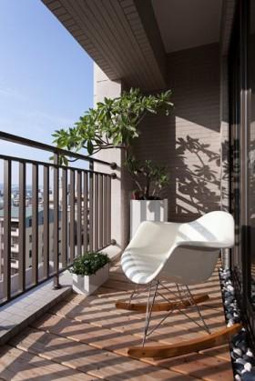 用途三居室阳台110平米装修效果图大全2015图片_用途.