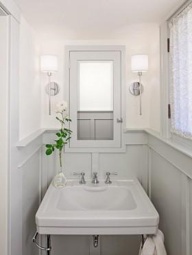 二手房洗手台装修效果图248