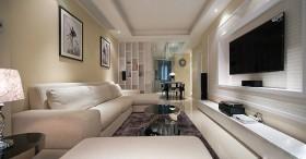 沙发背景墙装修效果图134