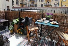 时尚两房设计 打造完美公寓庭院装修