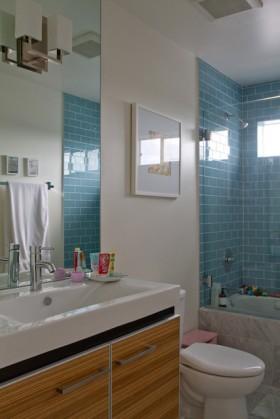 浴室柜装修效果图77