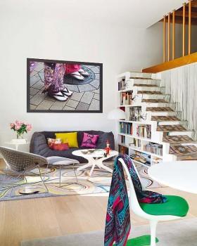 130平客厅沙发装修效果图873