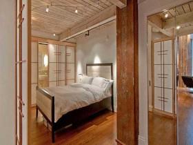 日式风格床装修效果图610