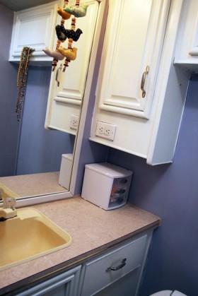 浴室柜装修效果图