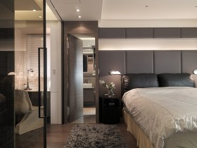 一居室床装修效果图604