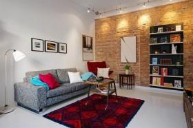 70平米一居室沙发装修效果图858