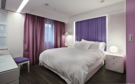 三居室床装修效果图587