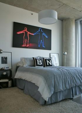 70平米公寓装修效果图