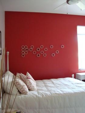 卧室背景墙装修效果图126