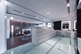 155平简约家居卧室装修效果图38